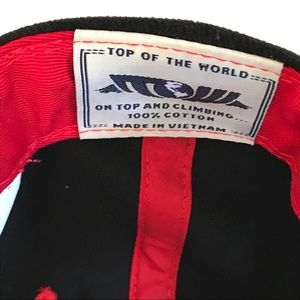 Top of the World Accessories - NWOT Top of the World Indianapolis 500 Fire Hawk